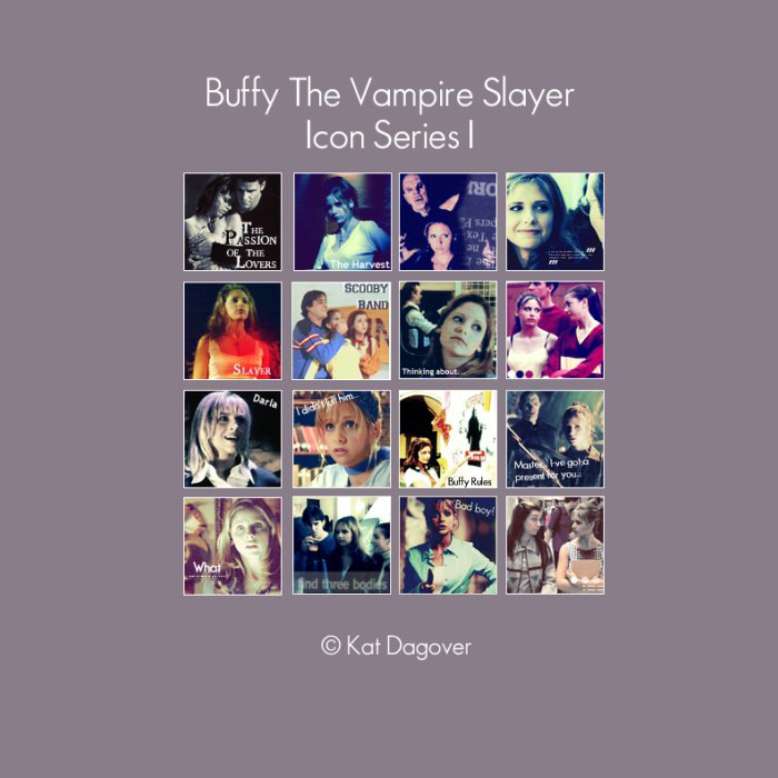 Icon Series - Buffy