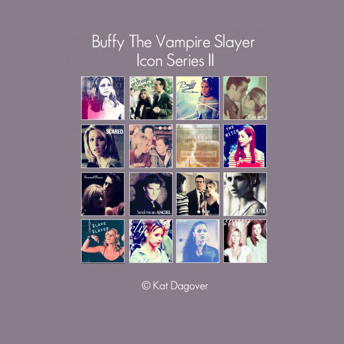 Icon Series - Buffy