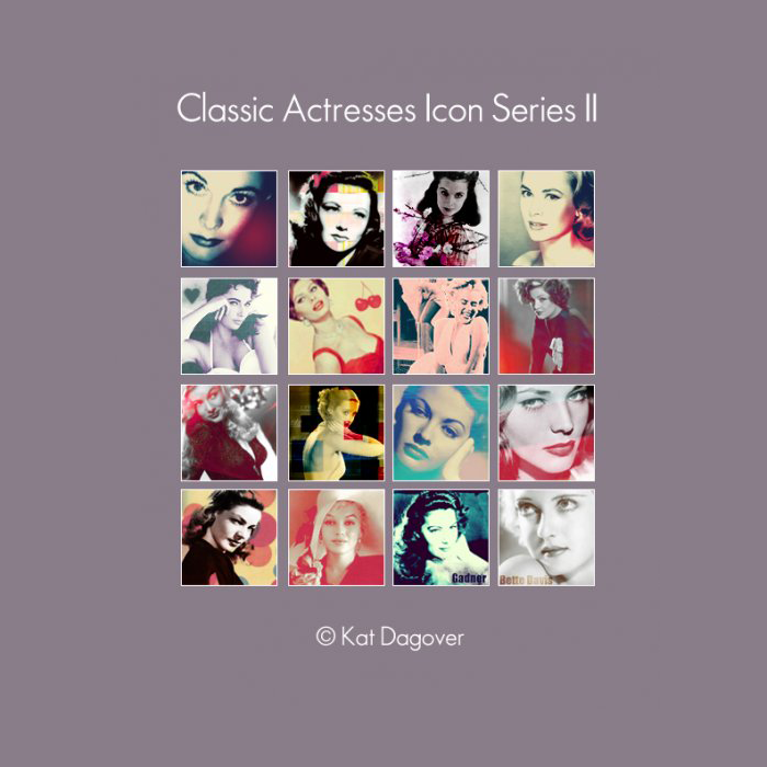 Icon Series - Classic Actresses