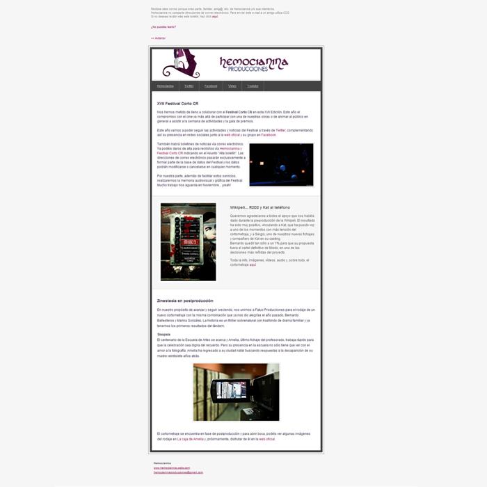 Newsletter Hemocianina
