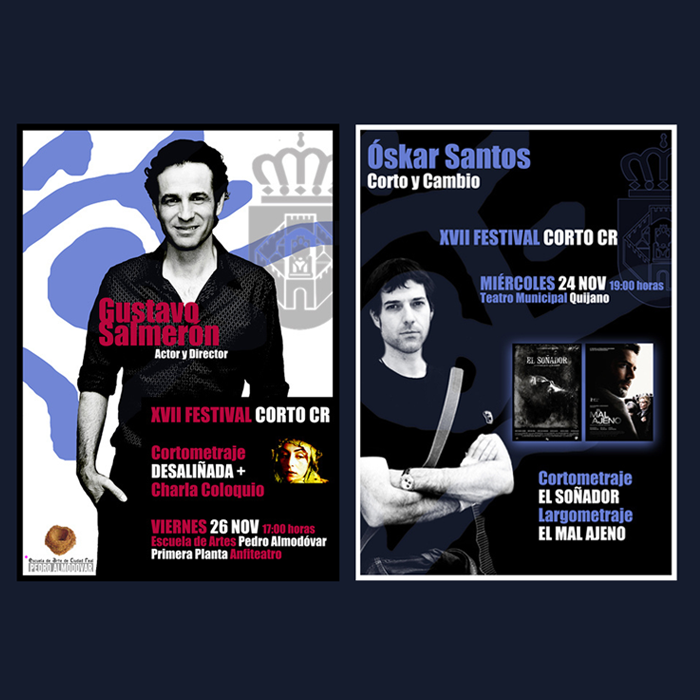XVII Festival Corto CR (Gustavo Salmerón y Óskar Santos)