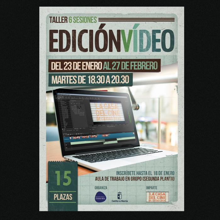 La Casa del Cine y del Audiovisual de Ciudad Real - Edición de Vídeo