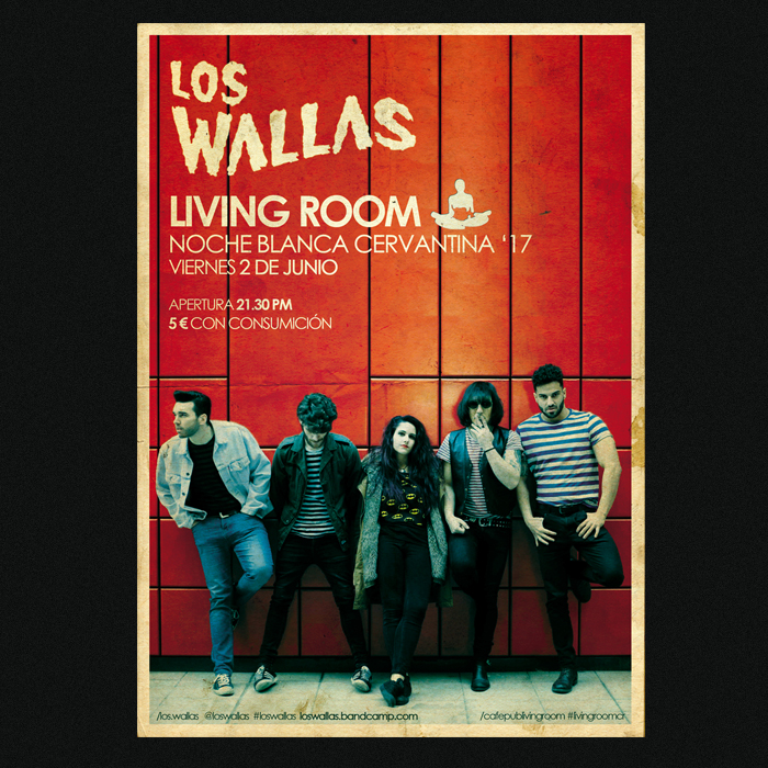 Living Room - Los Wallas '17