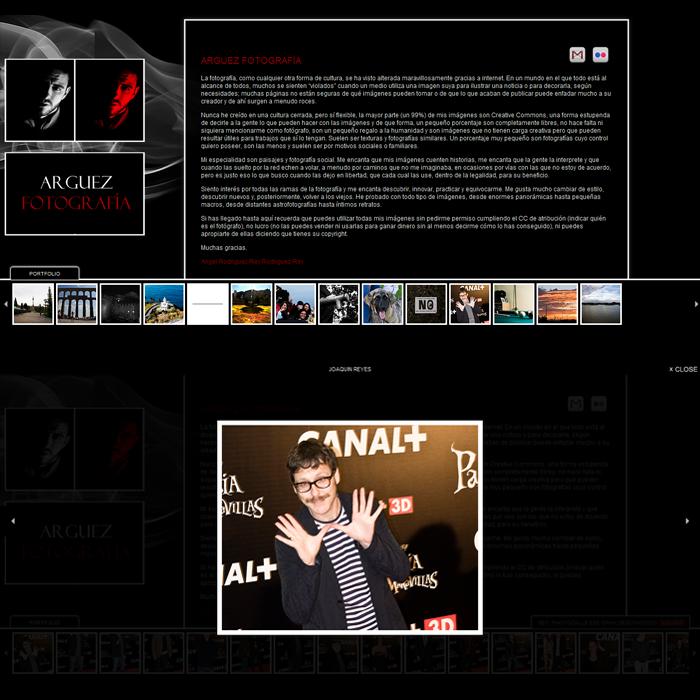 Arguez ~ Website