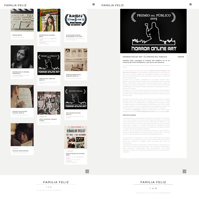 Familia Feliz (Hemocianina) ~ Website