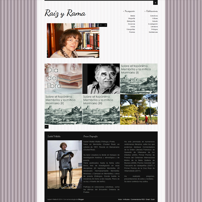 Isabel Villalta ~ Website