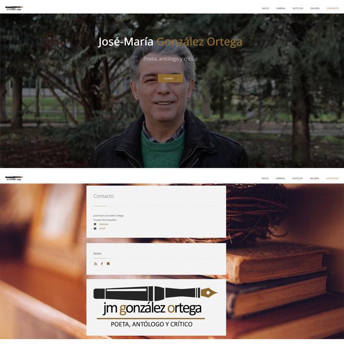 José María González Ortega ~ Website