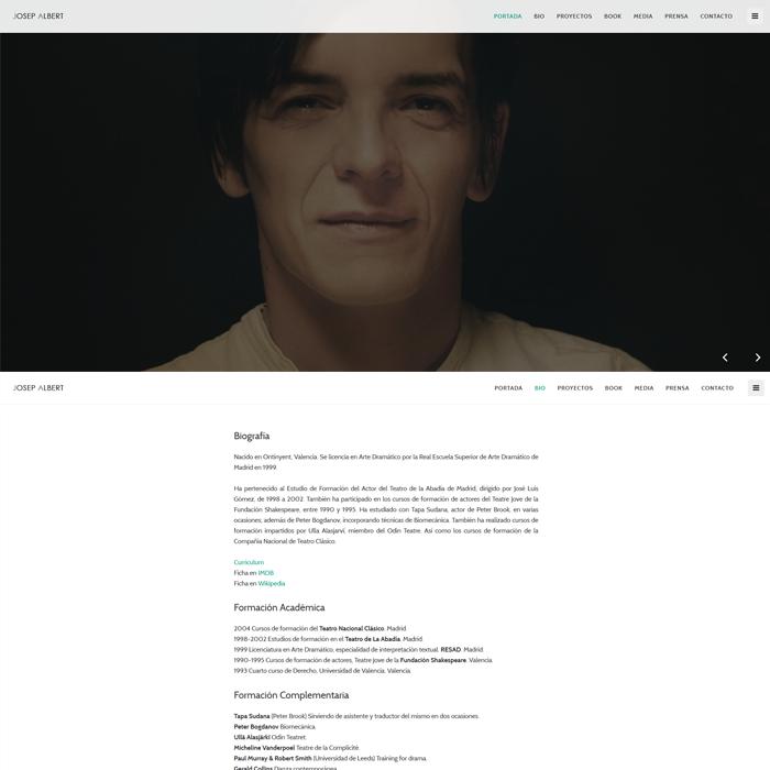 Josep Albert ~ Website