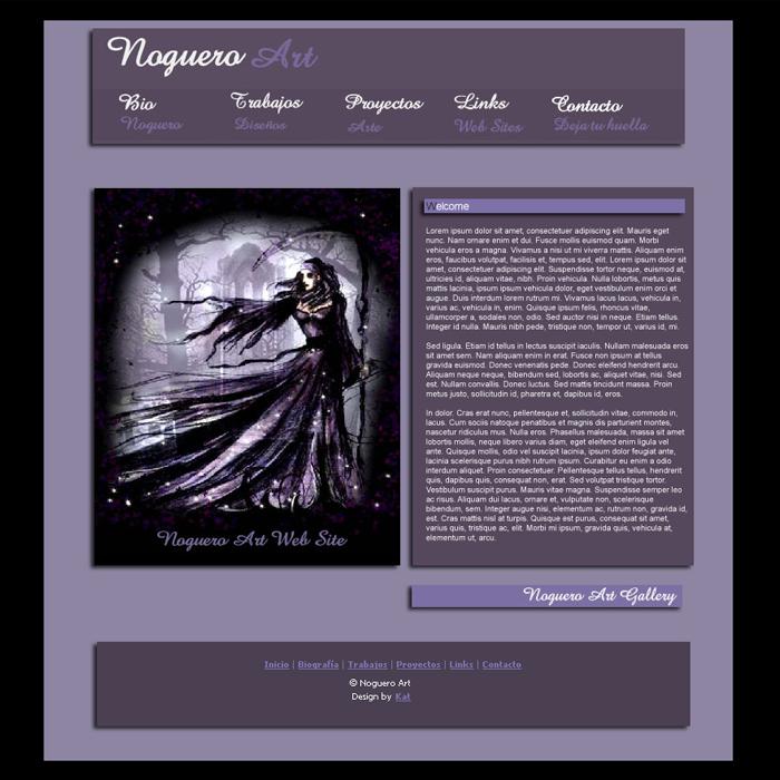 Noguero ~ Website