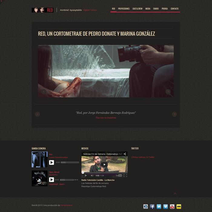 Red (Hemocianina) ~ Website