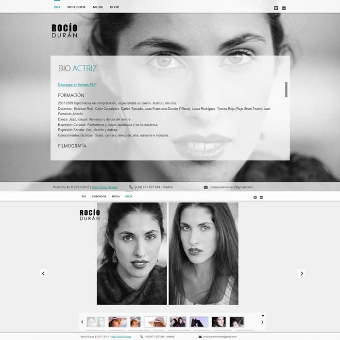 Rocío Durán ~ Website