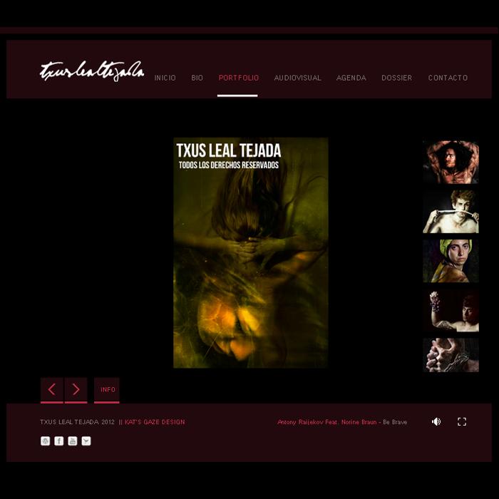 Txus Leal Tejada ~ Website